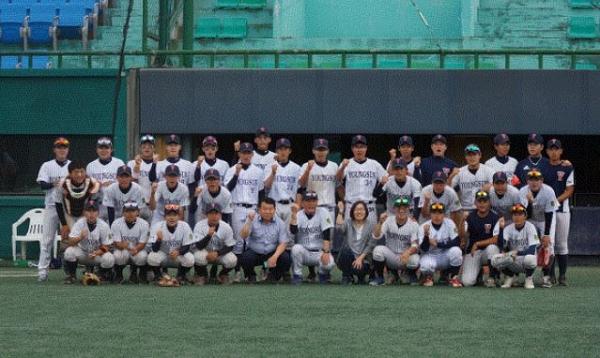 전라북도 고창군 영선고 야구부.