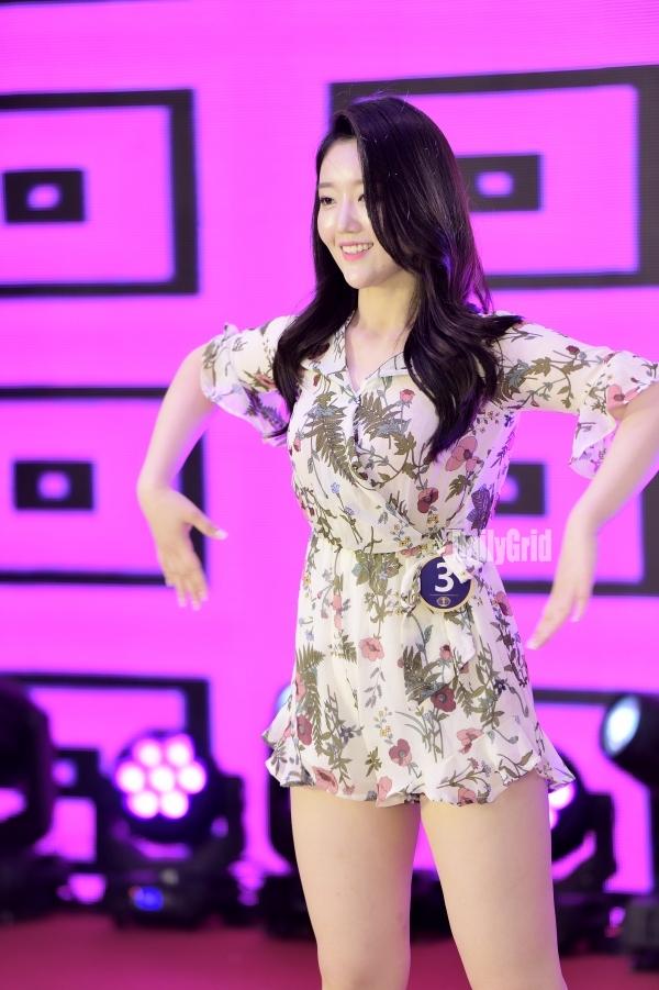 ▲ 이유나가  광주대회 에서  장기자랑 댄스를 보여주고 있다,  / ⓒ 오종준 기자/ ⓒ 오종준 기자